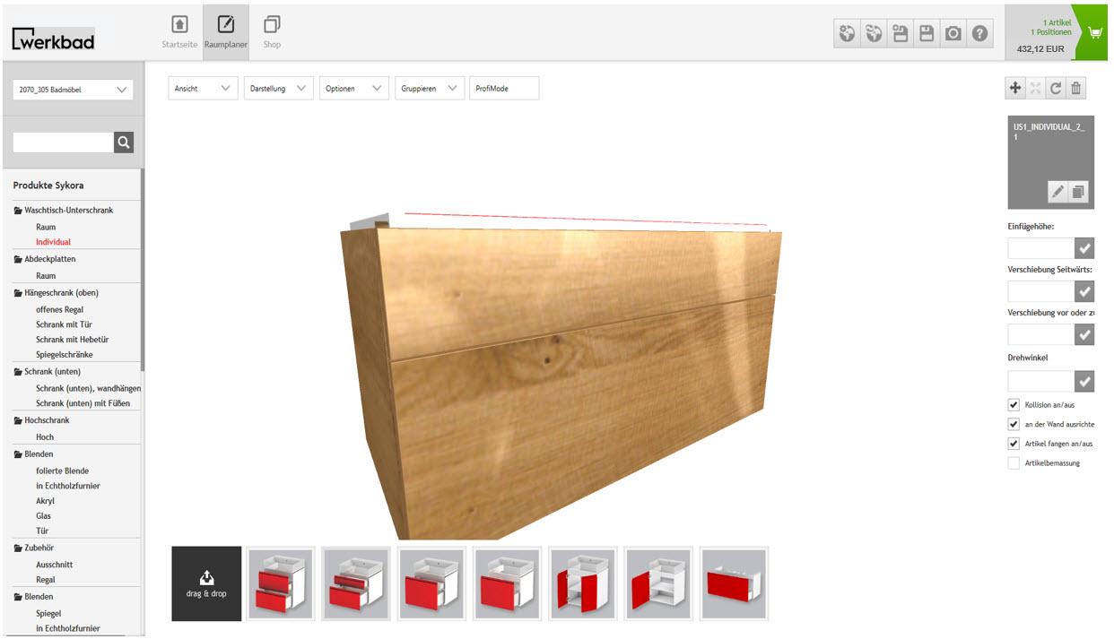 konfigurieren werkbad. Black Bedroom Furniture Sets. Home Design Ideas